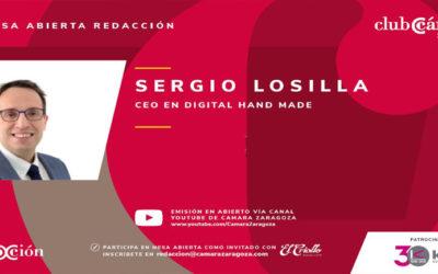 Entrevista Sergio Losilla en Club Cámara de Zaragoza