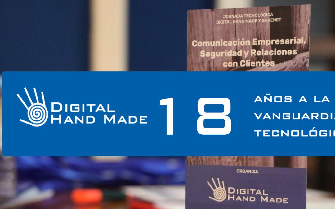 18 años de servicios tecnologicos a empresas