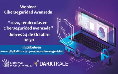 Grabación Webinar sobre tendencias en Ciberseguridad 2020