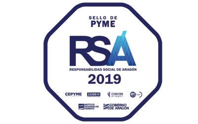 Cuidamos la Responsabilidad Social, obtenemos el sello RSA 2019
