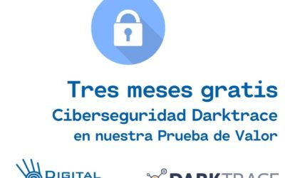 Tres meses de Ciberseguridad Darktrace gratis