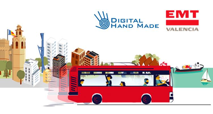 La EMT de Valencia adjudica su ciberseguridad a Digital Hand Made.