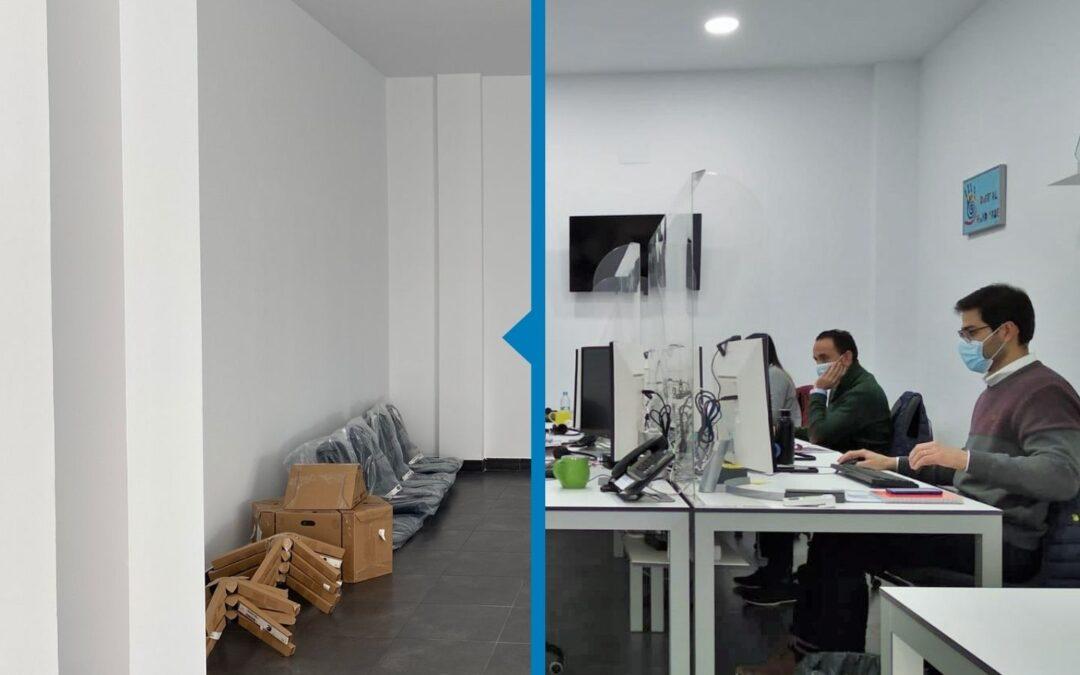 Nuestras nuevas instalaciones, ¿quién ha hecho posible esto?